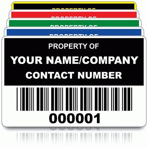 design labels online uk large personalised asset id labels pat labels online