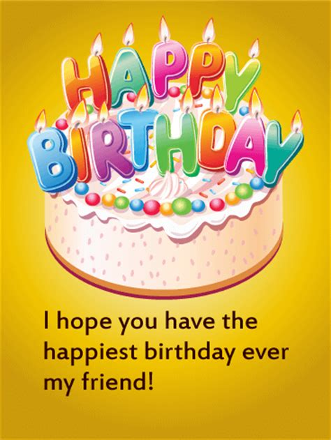 Pictures Birthday Cards For Friends Birthday Cards Birthday Greeting Cards By Davia Free