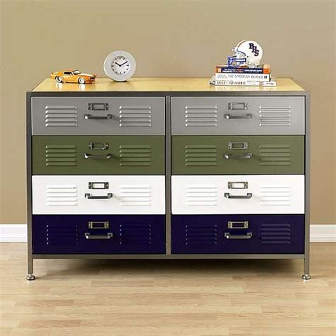locker style dresser love it or hate it pb teen locker double dresser