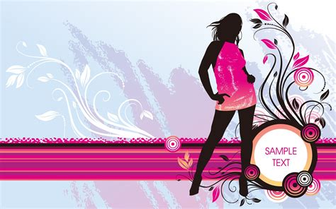 fashion design hd wallpaper vector girl fashion wallpaper vector and designs