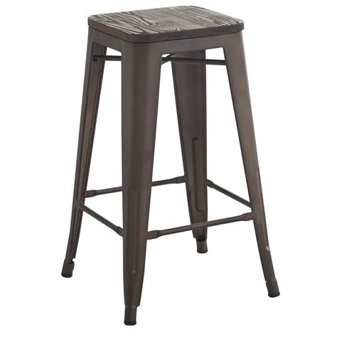 Counter Bar Stools Canada by Nspire Modus 26 Quot Counter Stool Set Of 4 Gunmetal 203