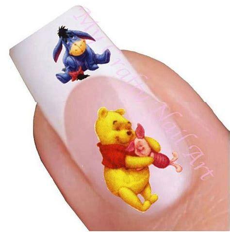 Winnie The Pooh Nail Sticker donald duck