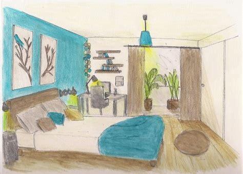 chambre bleu baltique