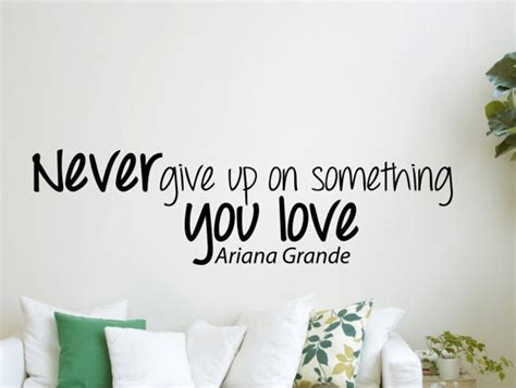 Song Lyric Wall Stickers ariana grande inspirational quotes quotesgram