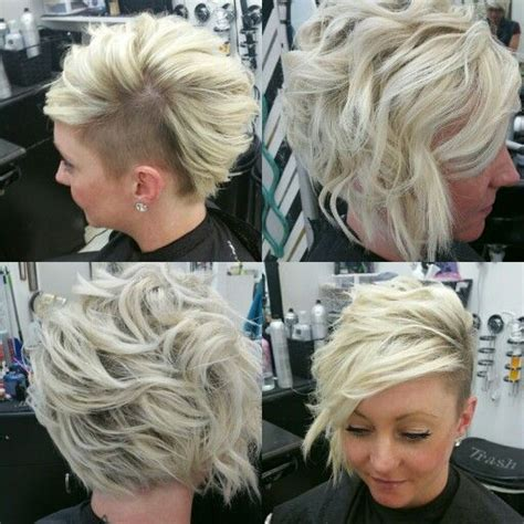 who do aline haircuts work for shaved side undercut asymmetrical aline bob my work