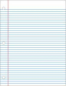 College Ruled Lined Paper Template by Best Notebook In Office Measurementsfurther Ruled Paper