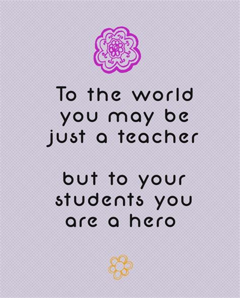 inspirational quotes from teachers quotesgram