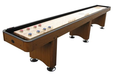 table shuffle board ships out in