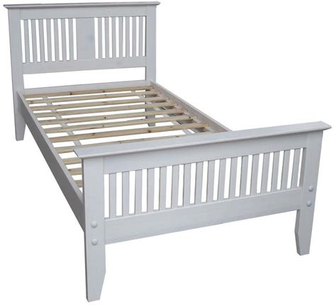 Wooden Single Bed Frames The 25 Best White Wooden Single Bed Ideas On Single Wooden Beds Wooden Platform