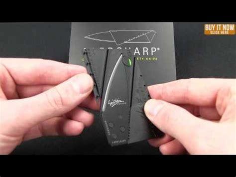 Terbaru Sinclair 2 Cardsharp Knife Black iain sinclair cardsharp v2 credit card utility knife 2 5 quot black blade hq
