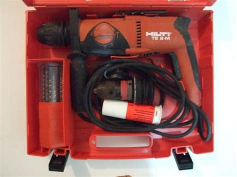 Bor Hilti Te 2 drills hilti te 2 m 230v rotary hammer drill was sold for r1 800 00 on 16 may at 11 26 by
