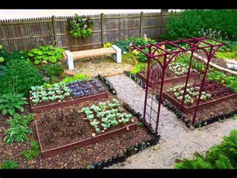 Vegetable Garden Design I Vegetable Garden Small Backyard   YouTube