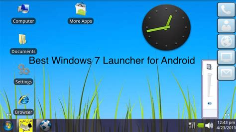 launchers for android free how to get windows 7 launcher for android