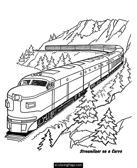 train coloring pages free printable train pictures to print az coloring pages