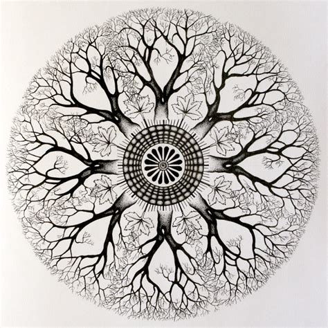 free coloring pages of mandala tree of life