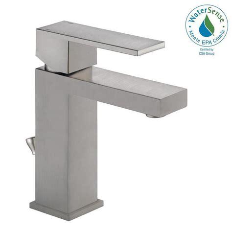 Modern Bathroom Faucet by Delta Modern Single Single Handle Bathroom Faucet In