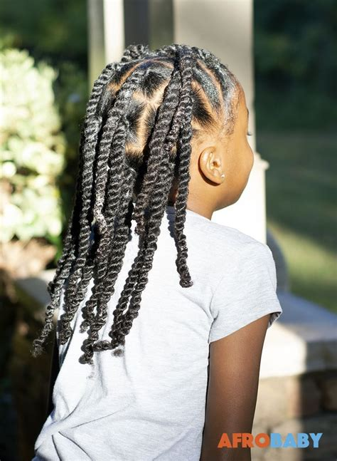kids natural hair style inspiration  strand twists