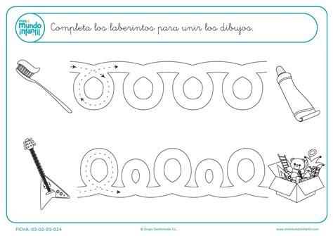 imagenes educativas para preescolar fichas de grafomotricidad mundo primaria