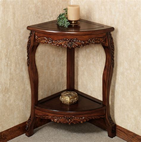 bathroom accent furniture alluring small corner accent table decor ideas home