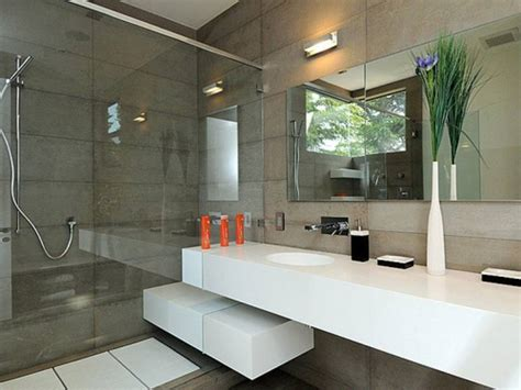 modern bathroom layouts 35 im 225 genes e ideas para decorar ba 241 os modernos