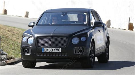 bentley suv 2016 new photos of poshest 4x4 yet by