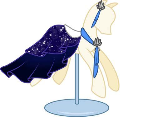Lil Poni Blue Dress pony dress lotus closed by nojiko444 on deviantart