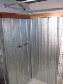 steel shower bath galvanized shower surround a complete how to bungalow