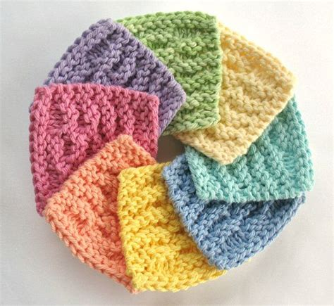 how to knit a scrubby scrubbies scrubbie cotton cleansing