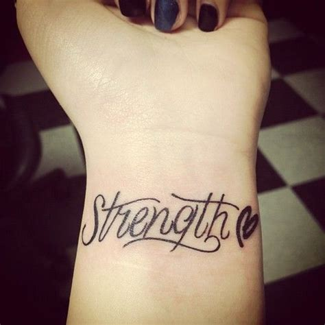 small strength tattoos 40 one strength letters tattoos on wrist golfian