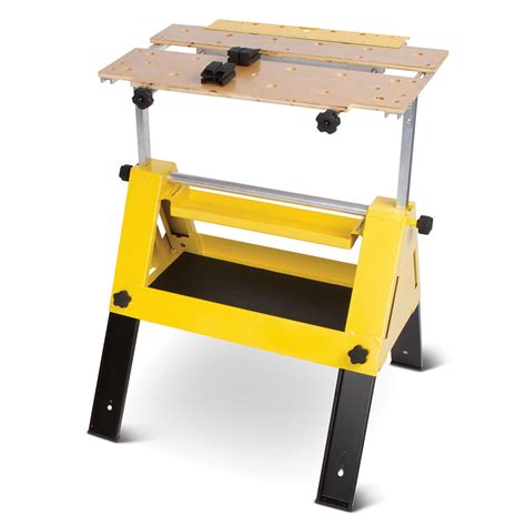 bench work tools the handyman s tool box work bench hammacher schlemmer