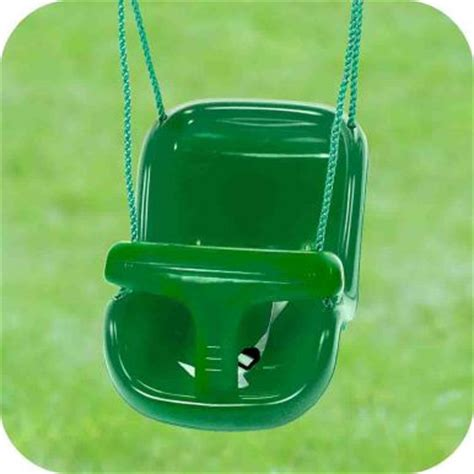 green graco swing wooden single swing play structures
