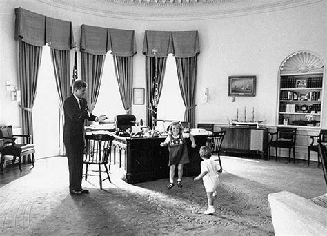 oval room   white president john  kennedy