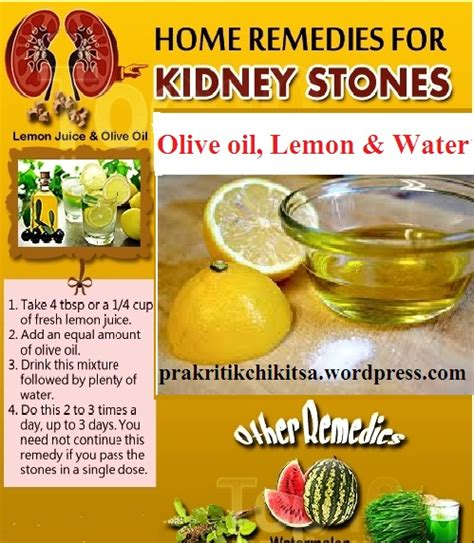 kidney stones symptoms home treatment