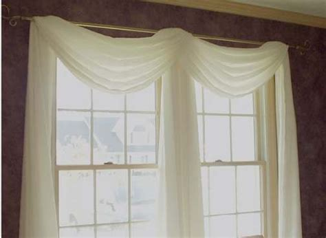 how to hang curtain scarves how to hang scarf window treatments bridal shower www