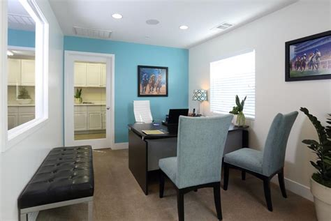 leasing office furniture displays sign technology