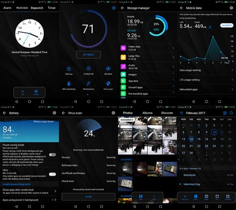 emui latest themes theme dark bloom for emui 5 0 dark theme huawei mate 9