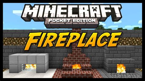 How To Make A Fireplace In Minecraft Pe by Minecraft Pocket Edition Tutorial How To Build A