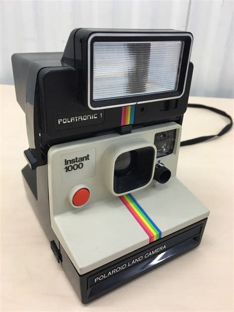 polaroid land flash retro sx70 polaroid 1000 land instant polatronic