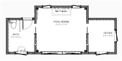 pool house floor plans with bathroom darienpoolhousefloorplan sw bungalo pool houses pool house plans and house