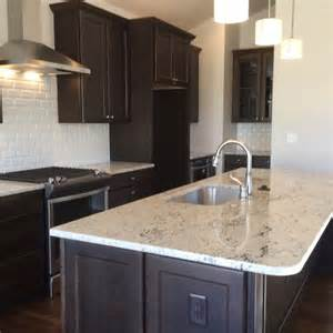 colonial gold granite with maple cabinets gourmet kitchen features colonial white granite espresso