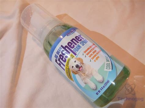 breath freshener review of petseer breath freshener and teeth cleaner technogog