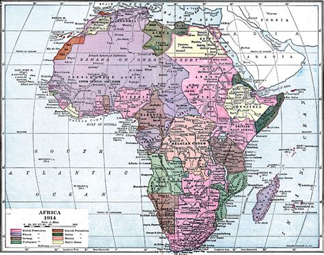 africa map 1914 africa map 1914