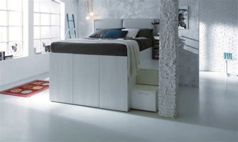 closet under bed genius space saving bed design gives you walk in closet