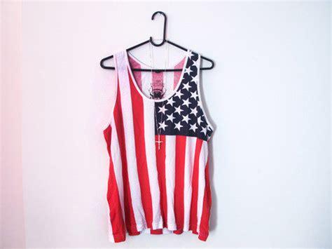clothes flag shirt usa image 449469 on favim