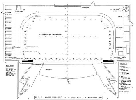 Floor Plan Layout Design Technical Specifications Uc Davis Arts