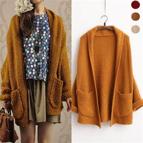 Hoodie Sweater Yogk Azk 15 new korean style knit cardigan sweater solid sleeve tops brand mohair