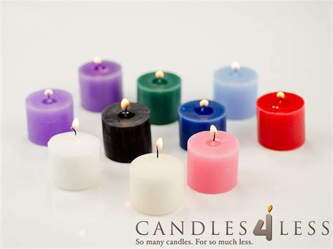 Candles For Less Unscented Votive Candles Wholesale Votive Candles