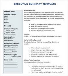 executive report template 10 documents in pdf