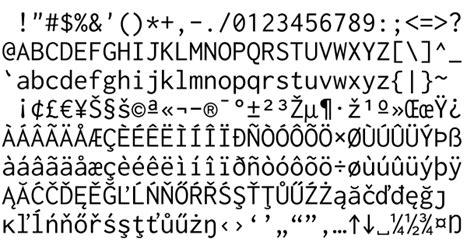 Mono Setelan Atta Collection 2 Free Alternative To Consolas Font