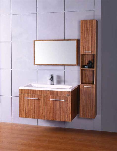mdf melamine bathroom cabinet vanity furniture 602